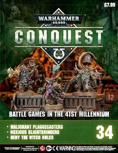 [Warhammer 40K: Conquest: Figurine Collection #34 (Product Image)]