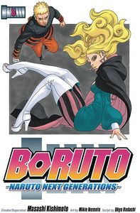 [Boruto: Volume 8: Naruto Next Generations (Product Image)]