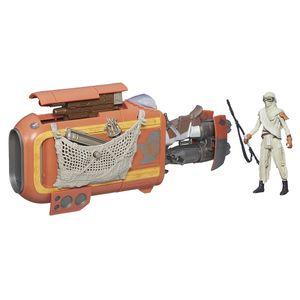 [Star Wars: The Force Awakens: Wave I Vehicles: Jakku: Rey's Speeder Bike (3.75 Inch Version) (Product Image)]