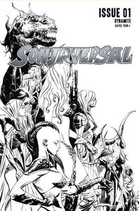 [Sonjaversal #1 (Lee Black & White Variant) (Product Image)]