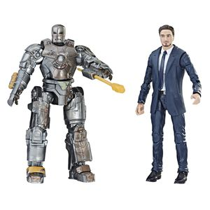 [Marvel Cinematic Universe: 10th Anniversary Legends Action Figure: Tony Stark & Iron Man Mark I (Product Image)]
