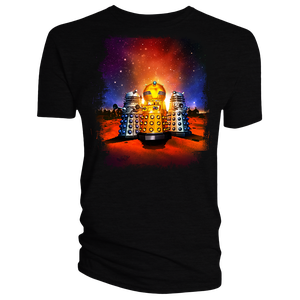 [Doctor Who: Time Lord Victorious: T-Shirt: Daleks! Animation (No Text) (Product Image)]