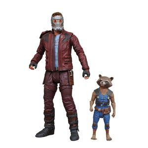 [Guardians Of The Galaxy Vol. 2: Marvel Select 2-Pack Action Figure: Star-Lord & Rocket (Product Image)]