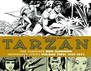 [Tarzan: Russ Manning Newspaper Strips: Volume 1: 1969-1971 (Hardcover) (Product Image)]