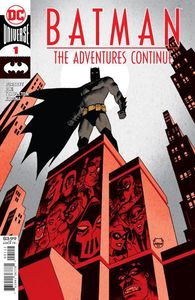 [Batman: The Adventures Continued #1 (2nd Printing Dave Johnson Recolored Variant) (Product Image)]