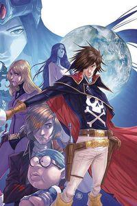 [Space Pirate: Captain Harlock #1 (Leirix Li Virgin Variant) (Product Image)]