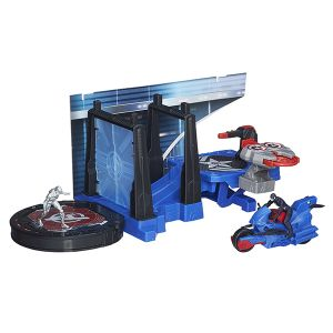 [Avengers: Age Of Ultron: Action Sets Wave 1: Captain America Tower Defence (2.5 Inch Version) (Product Image)]