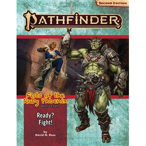 [Pathfinder: Fists Of The Ruby Phoenix: Adventure Path: Ready? Fight! (Product Image)]