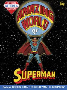 [The Amazing World Of Superman (Tabloid Edition Hardcover) (Product Image)]