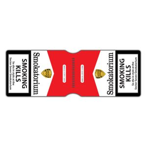 [2000AD: Travel Pass Holder: Judge Dredd  Smokatorium (Product Image)]