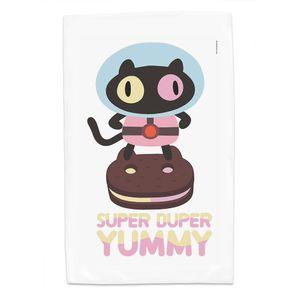 [Steven Universe: Tea Towel: Cookie Cat (Product Image)]