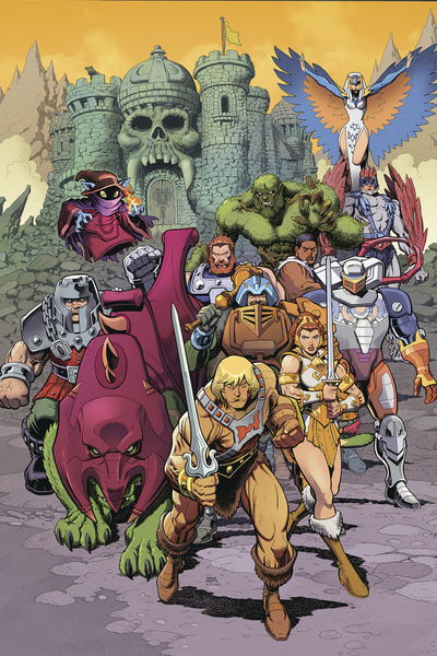 [The cover for Masters Of The Universe: Revelation #4 (Cover B Adams)]