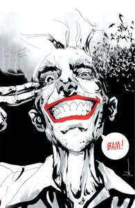 [Joker: Year Of The Villain #1 (Forbidden Planet Jock B&W Virgin Convention Variant) (Product Image)]