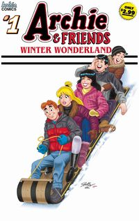 [The cover for Archie & Friends: Winter Wonderland #1]