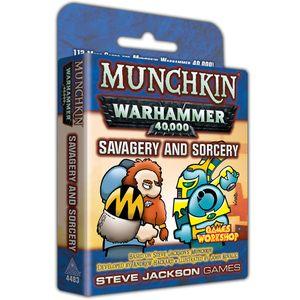 [Munchkin: Warhammer 40K: Savage & Sorcery (Product Image)]