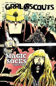 [Grrl Scouts: Magic Socks #6 (Walking Dead #158 Tribute) (Product Image)]