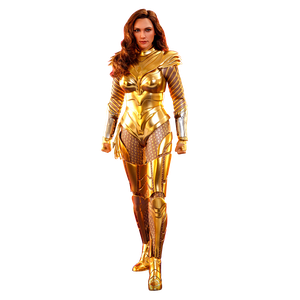 [Wonder Woman 1984: Deluxe Hot Toys Action Figure: Golden Armour Wonder Woman (Product Image)]