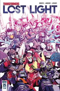 [Transformers: Lost Light #25 (Cover A - Lawrence) (Product Image)]