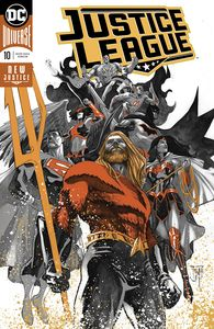 [Justice League #10 (Foil - Drowned Earth) (Product Image)]