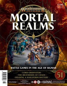 [Warhammer: Age Of Sigmar: Mortal Realms #51 (Product Image)]