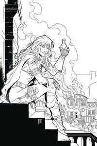 [Red Sonja: Price Of Blood #2 (Geovani Black & White Virgin Variant) (Product Image)]