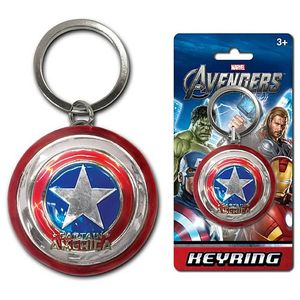 [Marvel: Keyring: Captain America Shield (Product Image)]