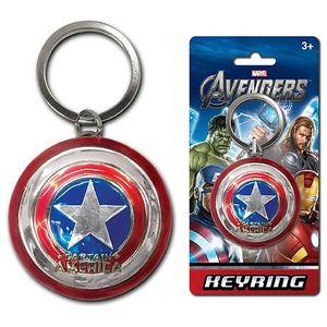 [Marvel: Keyring: Captain America Shield (Product Image)]