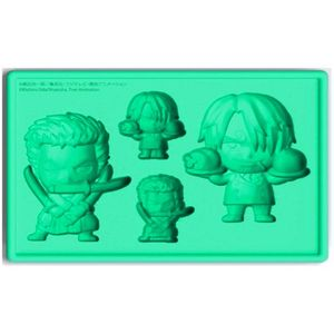 [One Piece: Silicone Ice Tray: New World Zoro And Sanji (Product Image)]