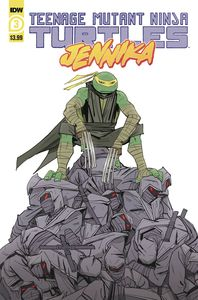 [Teenage Mutant Ninja Turtles: Jennika #3 (Cover A Revel) (Product Image)]