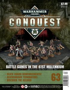 [Warhammer 40K: Conquest: Figurine Collection #63 (Product Image)]