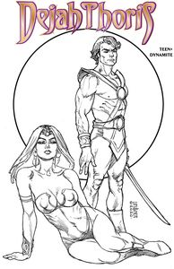 [Dejah Thoris: Winters End: One Shot (Linsner B&W Variant) (Product Image)]