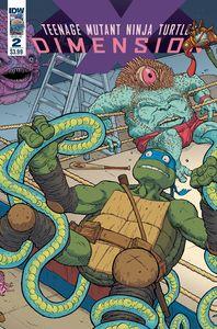 [Teenage Mutant Ninja Turtles: Dimension X #2 (Cover A Pitarra) (Product Image)]