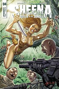 [Sheena #4 (Cover C Santucci) (Product Image)]