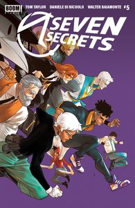 [Seven Secrets #5 (2nd Printing) (Product Image)]