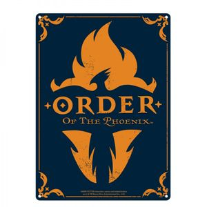 [Harry Potter: Tin Sign: Order Of The Phoenix (Product Image)]