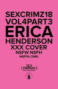 [Sex Criminals #18 (XXX Erica Henderson Variant) (Product Image)]