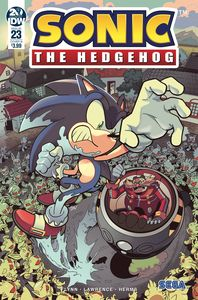 [Sonic The Hedgehog #23 (Cover B Yardley) (Product Image)]