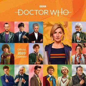 [Doctor Who: Classic Edition Square Calendar: 2020 (Product Image)]