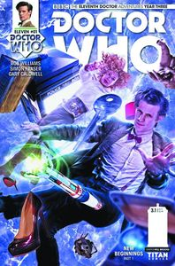 [Doctor Who: 11th Doctor: Year Three #1 (Cover B Photo) (Product Image)]