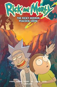 [Rick & Morty: Volume 4: The Rick Horror Peacock Show (Signed Edition) (Product Image)]