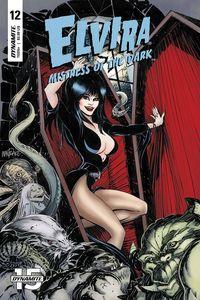 [Elvira: Mistress Of Dark #12 (Cover A Mandrake) (Product Image)]