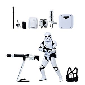 [Star Wars: Black Series Action Figure: First Order Stormtrooper With Gear (Product Image)]
