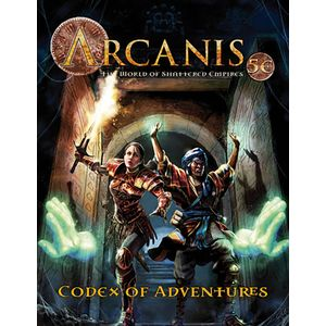 [Arcanis: World Of Shattered Empires: 5th Edition: Codex Of Adventures: Volume 1 (Product Image)]