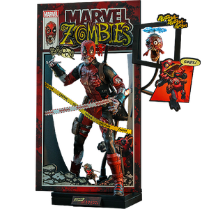 [Marvel Zombies: Hot Toys Action Figure: Zombie Deadpool (Product Image)]