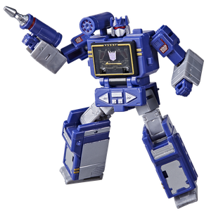 [Transformers: Generations: War For Cybertron: Kingdom Core Action Figure: Soundwave (Product Image)]