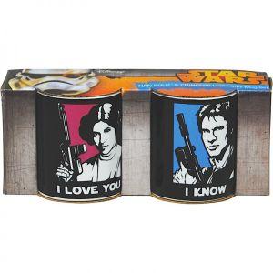 [Star Wars: Mini Mug Set: I Love You (Product Image)]