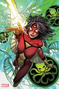 [Spider-Woman #5 (Land Virgin Variant) (Product Image)]