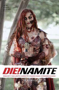 [Die!Namite #4 (Cover G Polson Zombie Cosplay Bonus Variant) (Product Image)]