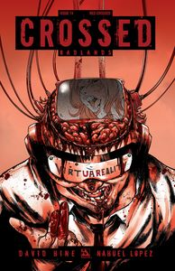 [Crossed: Badlands #74 (Red Crossed Variant) (Product Image)]