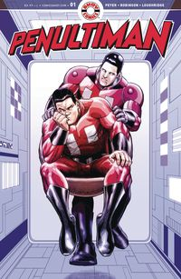 [The cover for Penultiman #1 (Cover A Robinson)]